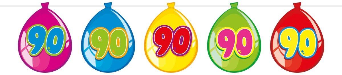 folat – Ballon banner, 90 på temashop.dk