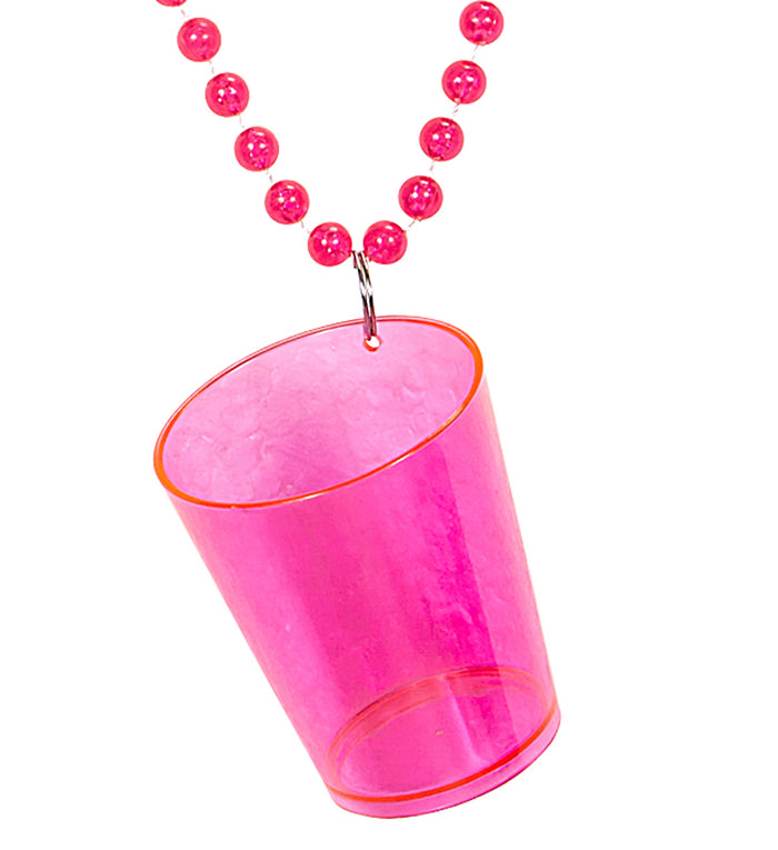 Neon pink shotglas fra widmann på temashop.dk