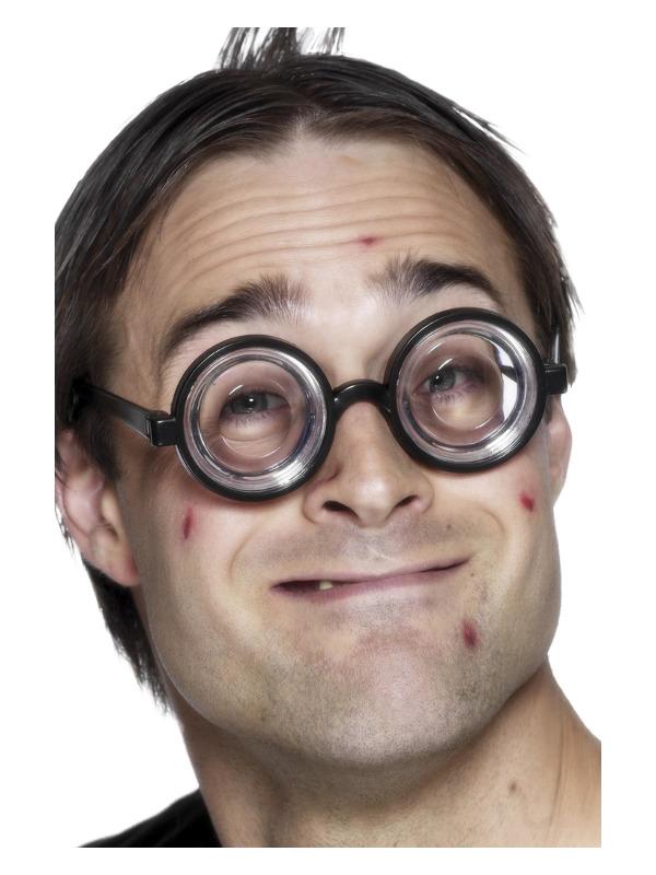 smiffys – Nørdbrille m. glas på temashop.dk