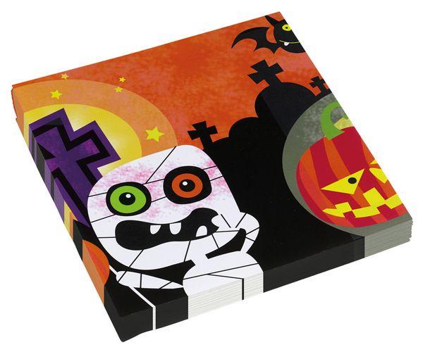 20 Servietter, Halloween