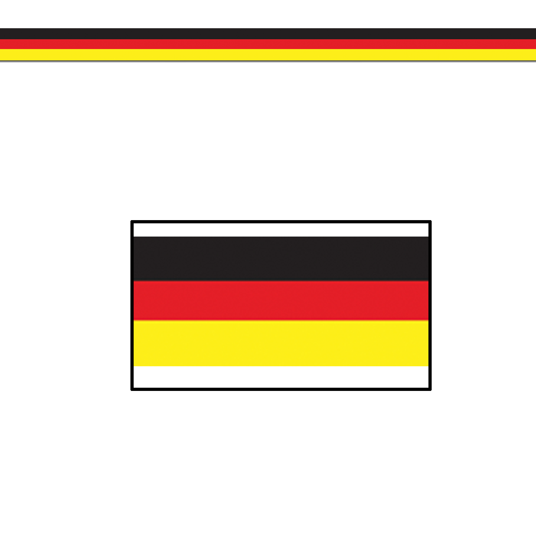 beistle – Tysk dekorations banner på temashop.dk