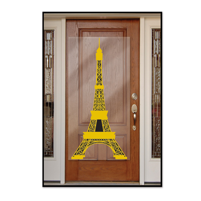 beistle Eiffeltårn dørcover fra temashop.dk
