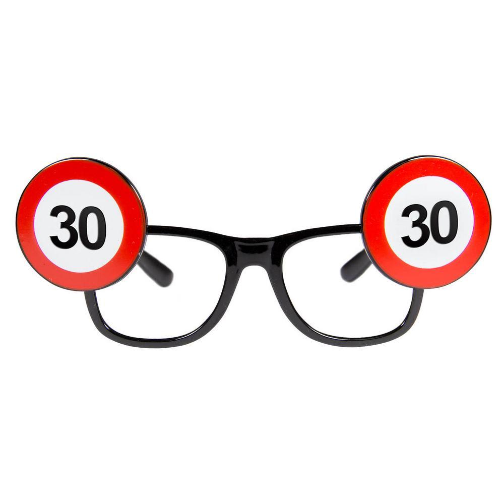 Trafikskilt briller, 30 år fra folat på temashop.dk