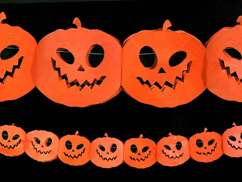 Halloween Græskar Guirlande