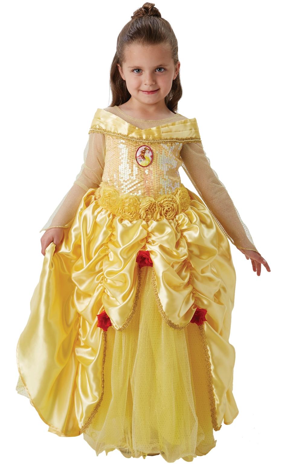 Deluxe disney prinsesse, belle fra rubiesuk på temashop.dk