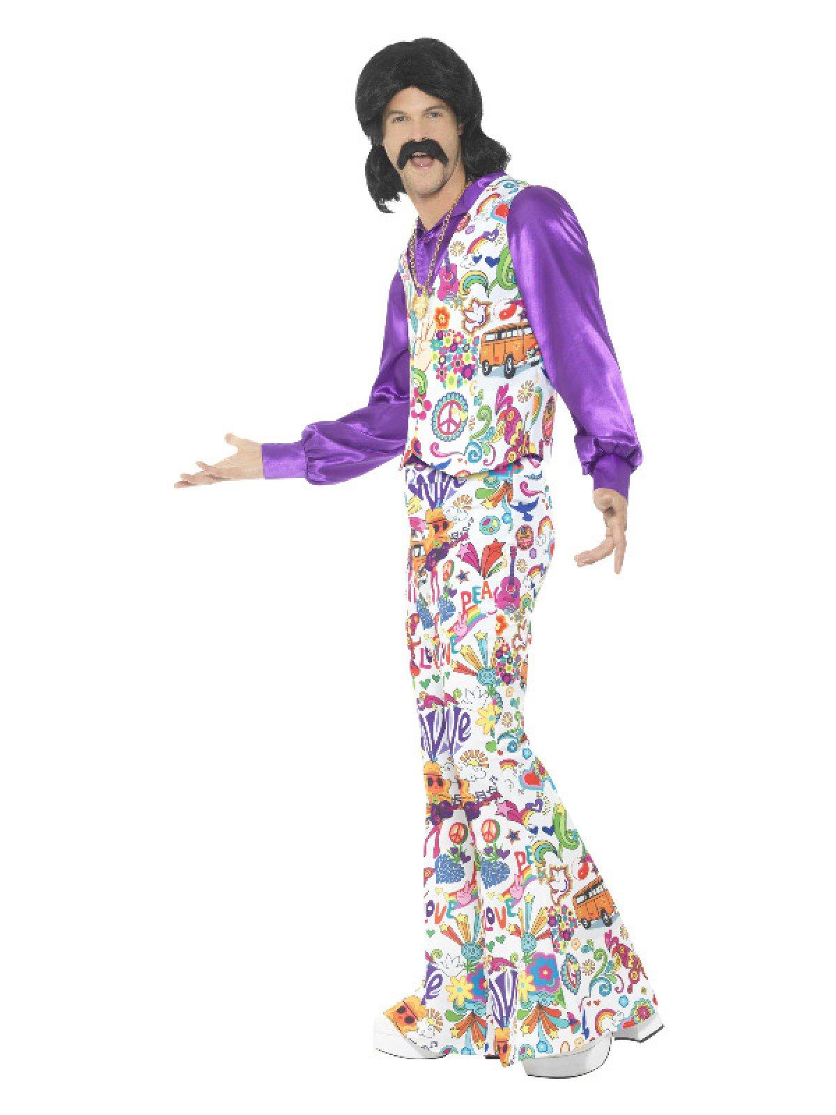 Køb 60er Groovy Hippie Kostume til kun 249 kr   Lynhurtig
