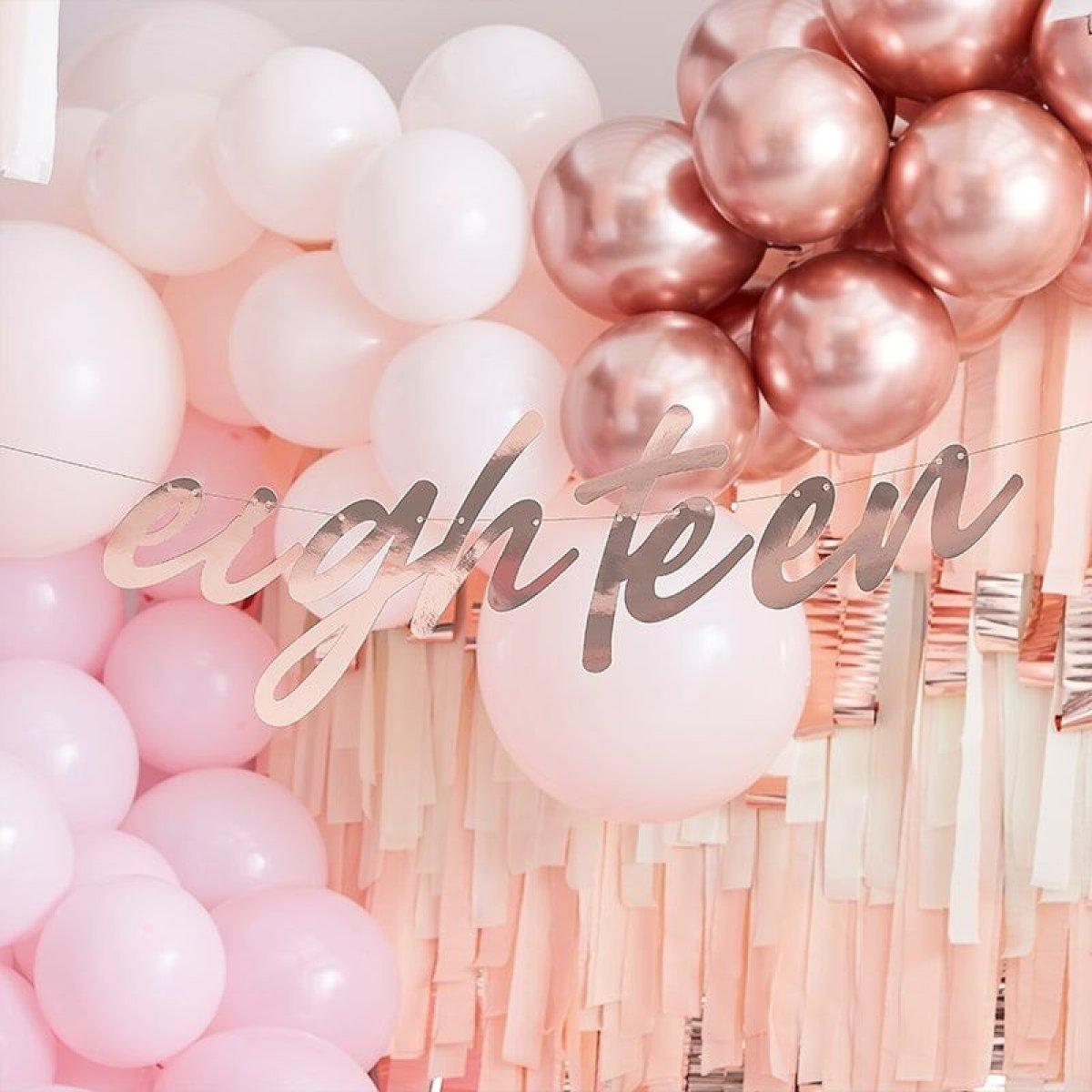 18 års fødselsdag - Køb nu online - Levering imorgen