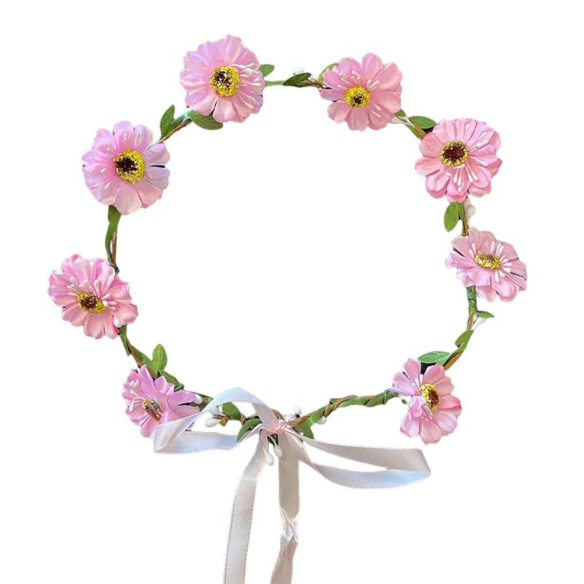 Blomsterkrans Hårbånd