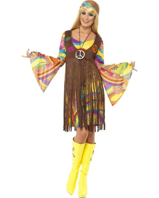 60er tøj - Find billigt hippie og 60er kostume her