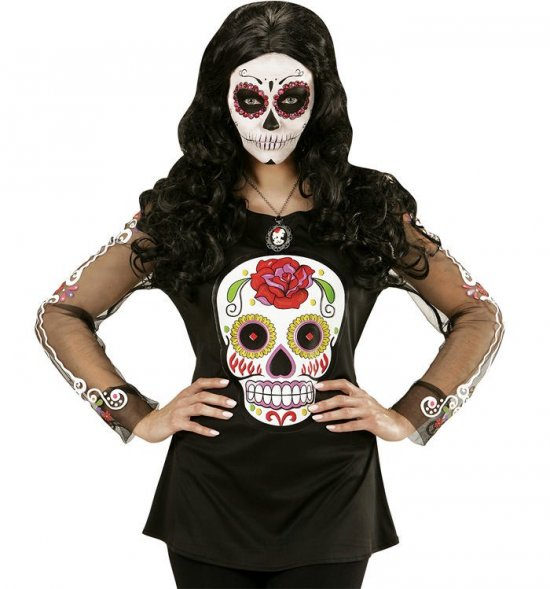 Day of the Dead Bluse