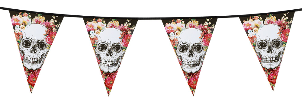 Day Of The Dead Vimpel Banner