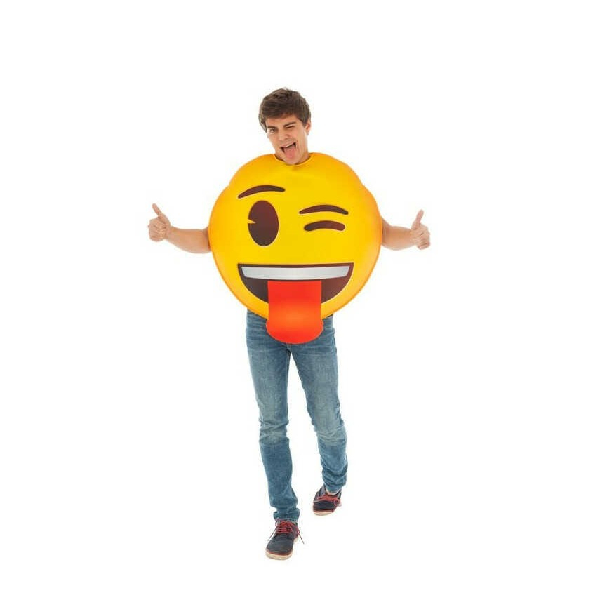 Blinkende Emoji™ Kostume