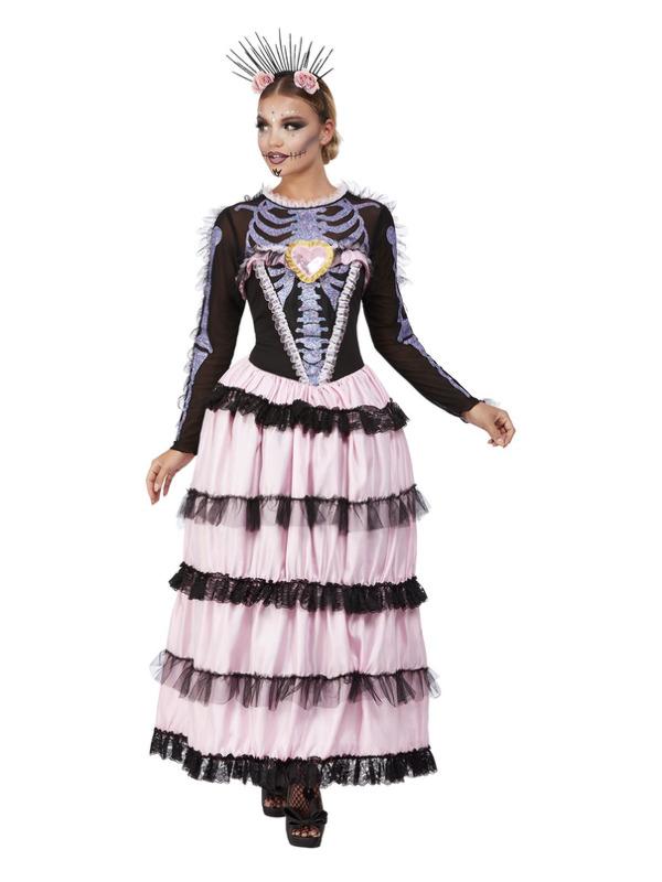 Deluxe Day of the Dead Señorita Kostume