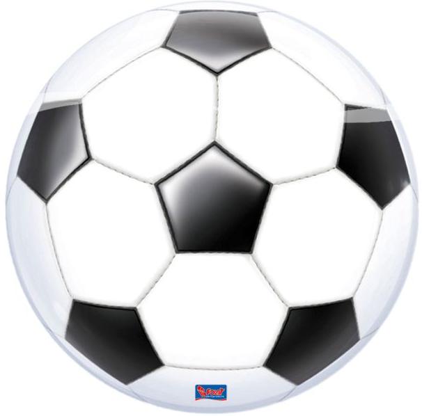 Bubble ballon, fodbold fra folat på temashop.dk