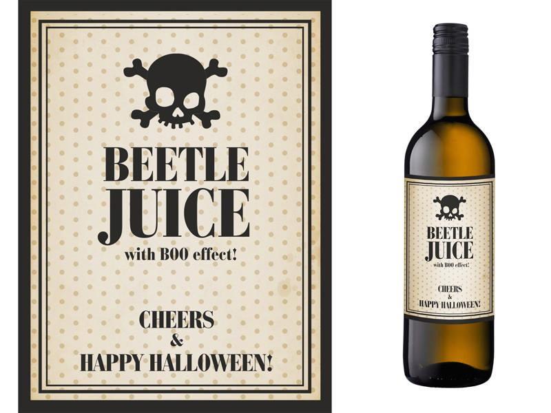 Flaske Etiketter, Beetle Juice