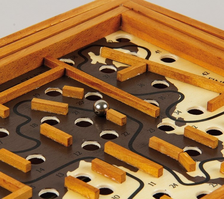 professorpuzzle – Great minds: marco polo labyrinth på temashop.dk