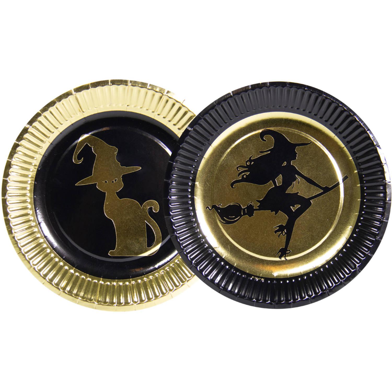 Guld Heks Tallerkener, 23 Cm