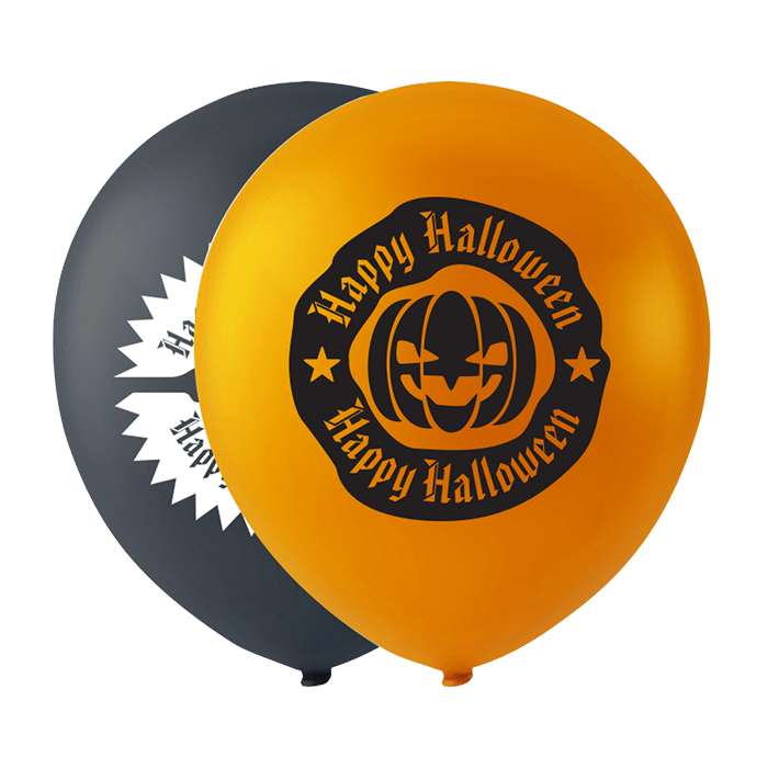 Halloween Balloner Print /10 stk
