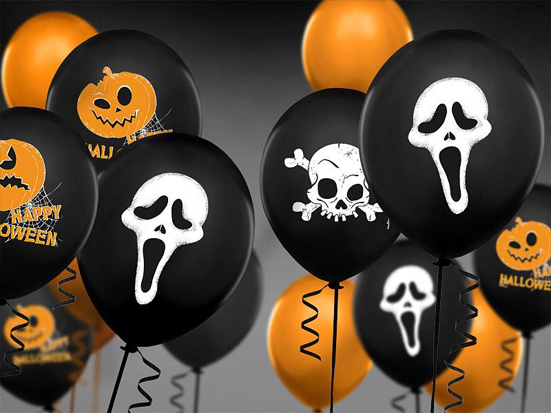 Halloween Balloner, Scream