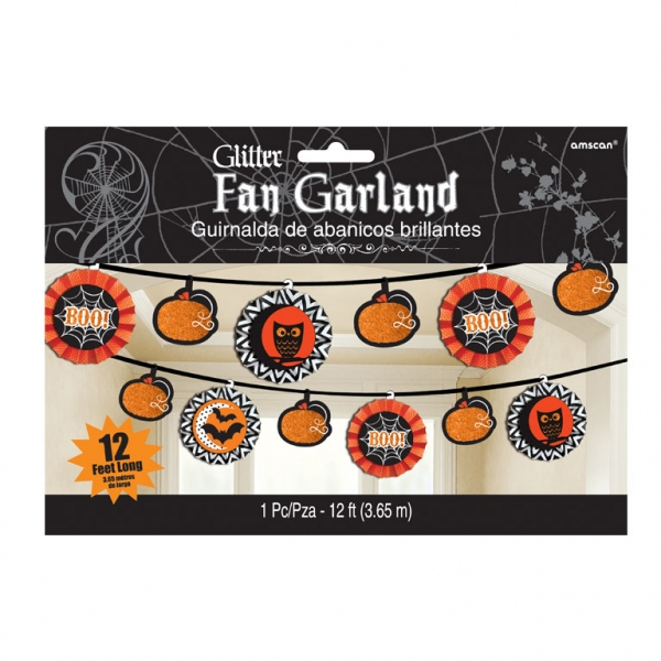 Halloween Guirlande, Glitter