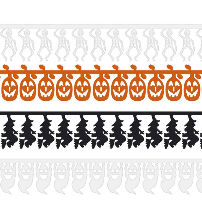 Halloween guirlande pakke, Assorteret