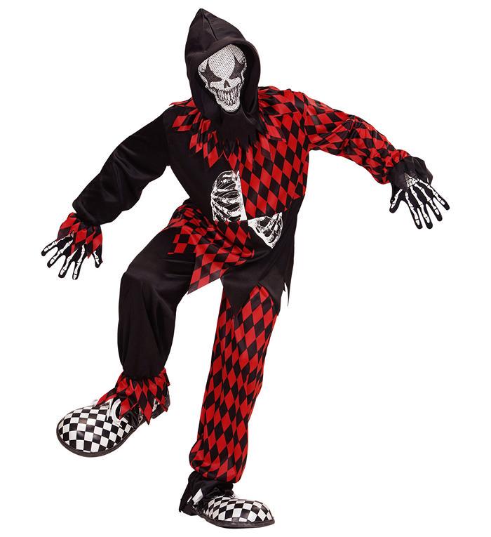 Halloween Joker Børnekostume
