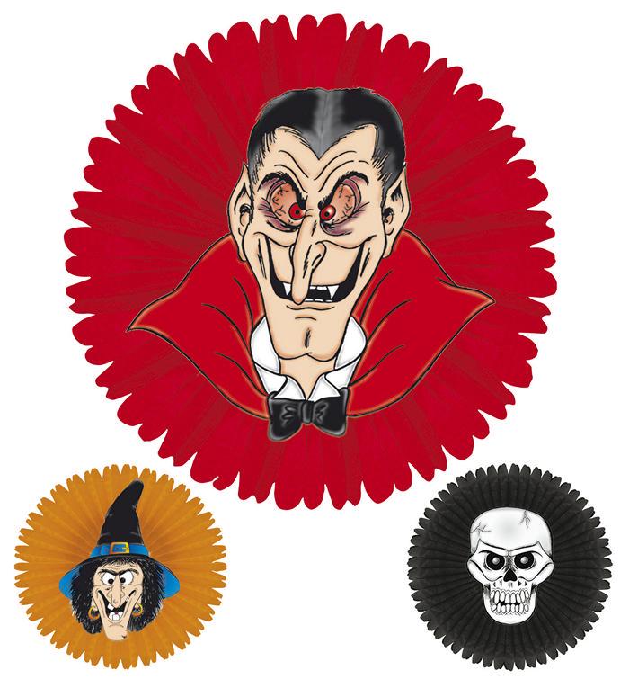 Halloween papirs fane, Assorteret