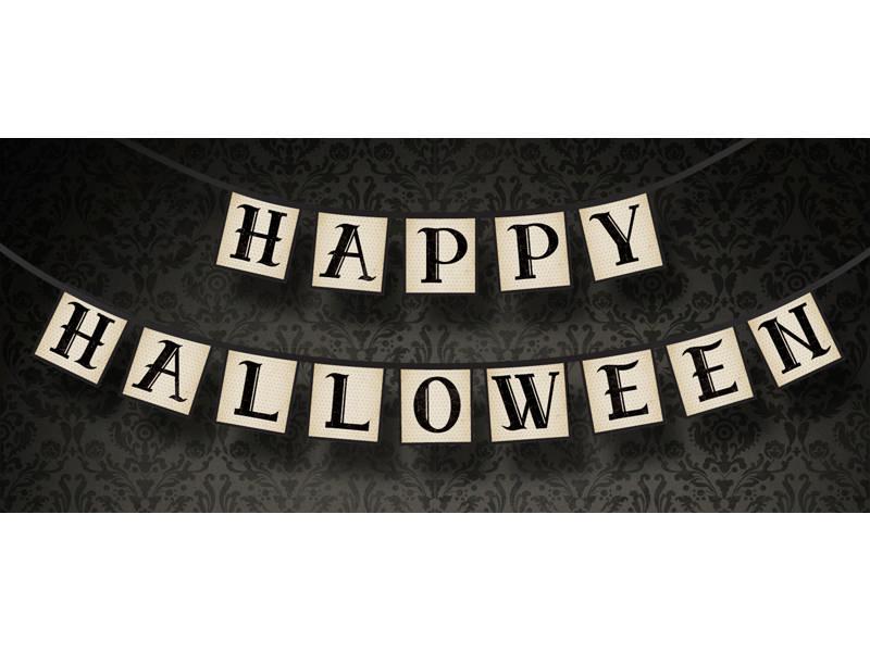 Happy Halloween Guirlande