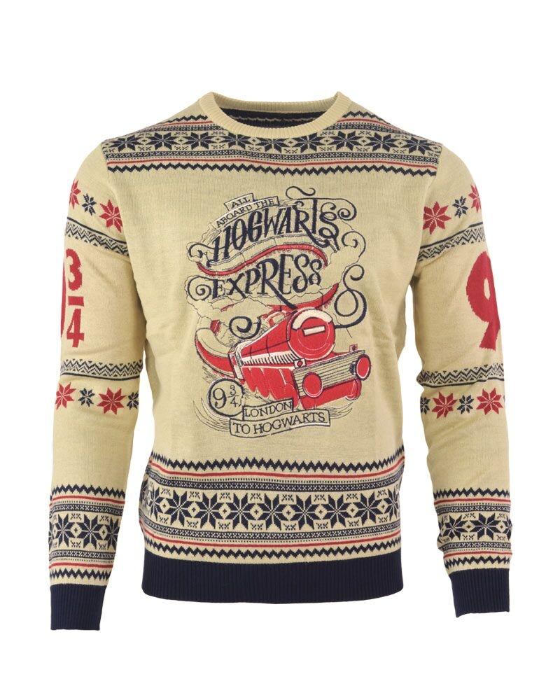 thumbs up harry potter: hogwarts express jule sweater