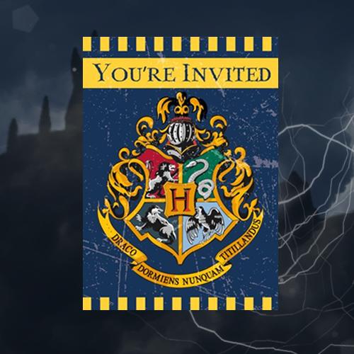 Harry Potter® Invitationer
