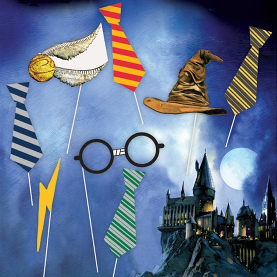 Harry Potter® Photo Booth Rekvisitter