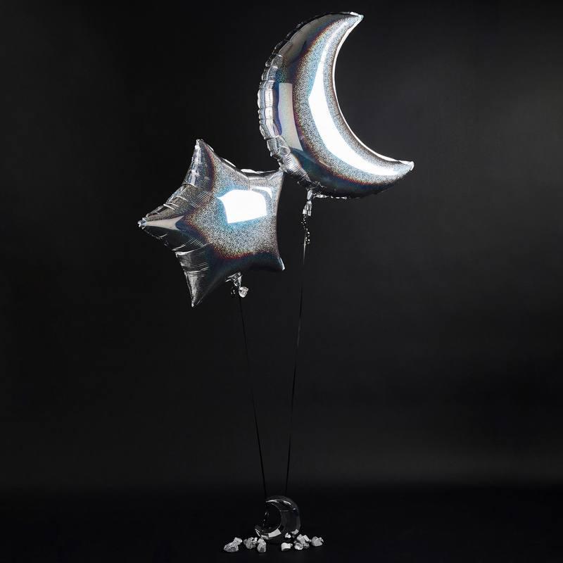 Måne & Stjerne Balloner