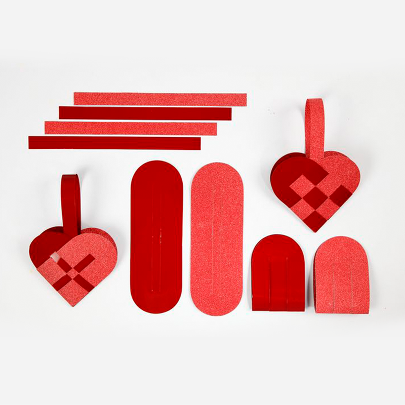Julehjerter: Rød, DIY