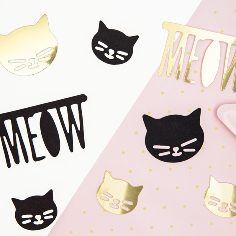 Katte Papir Dekorationer