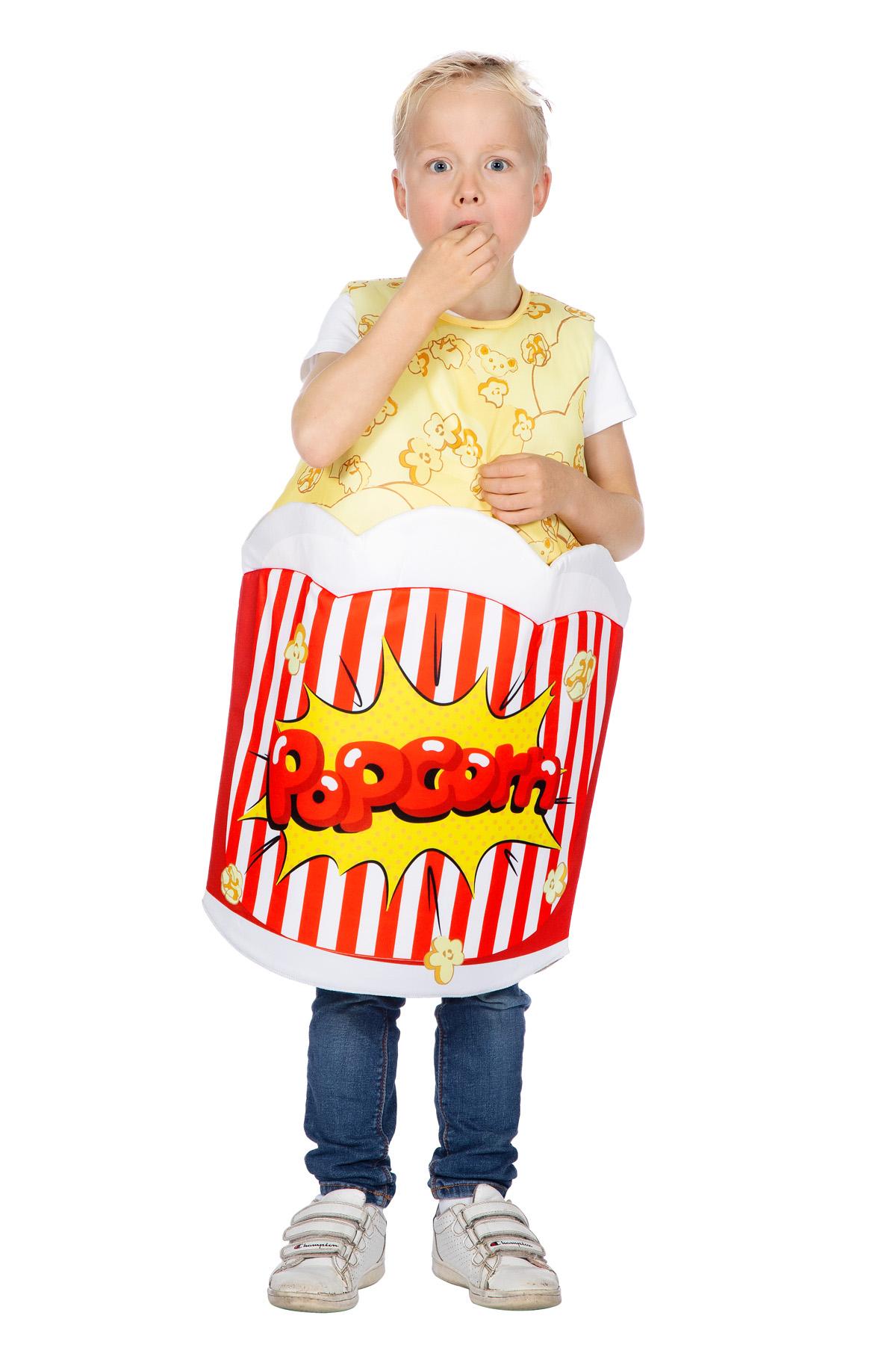 Popcorn Børnekostume