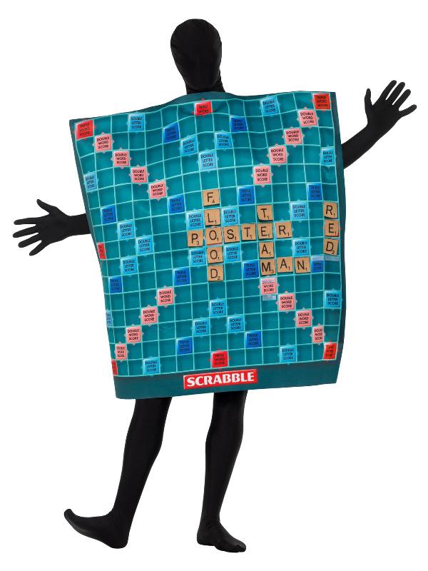 Scrabble Bræt Kostume