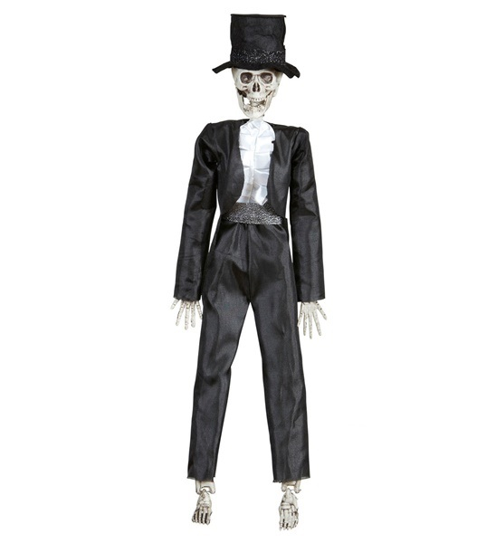 Skelet Brudgom Dukke
