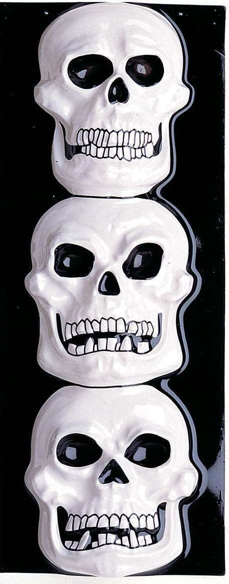 Skelethoved dekoration
