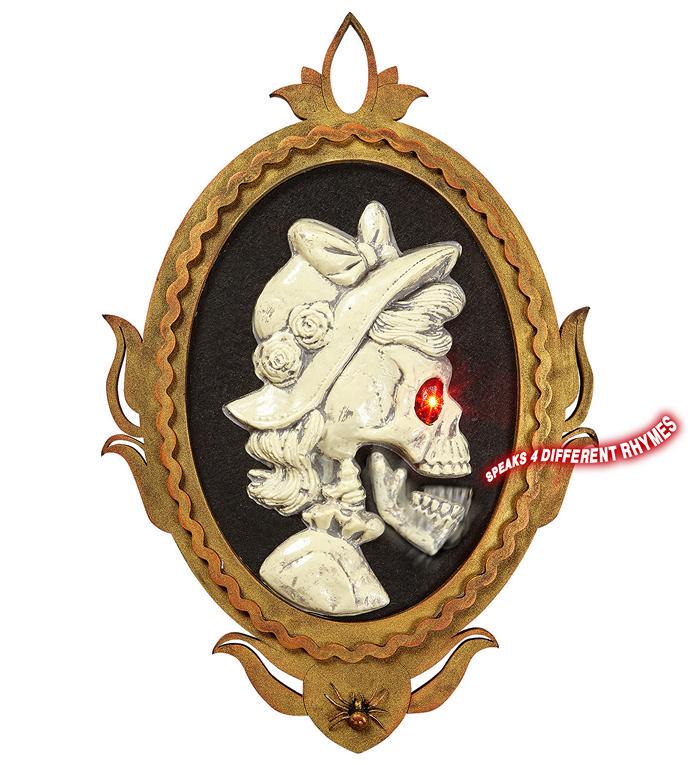 Skeletkvinde dekoration