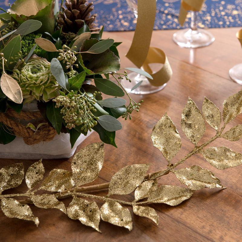 Glittergren Guld