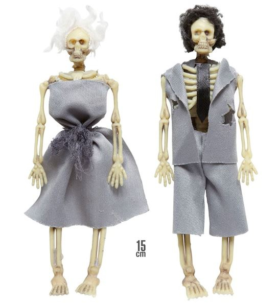 Skelet Par, Hverdag