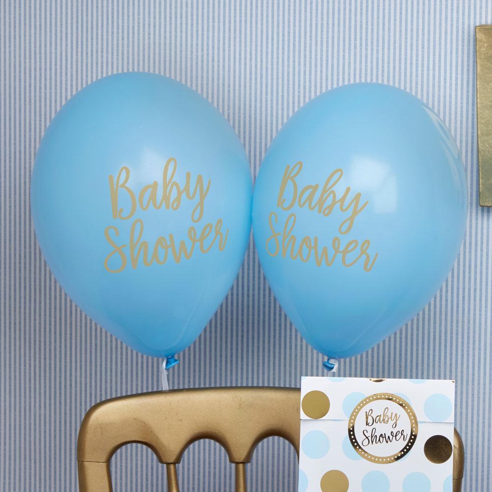 neviti Babyshower balloner dreng fra temashop.dk