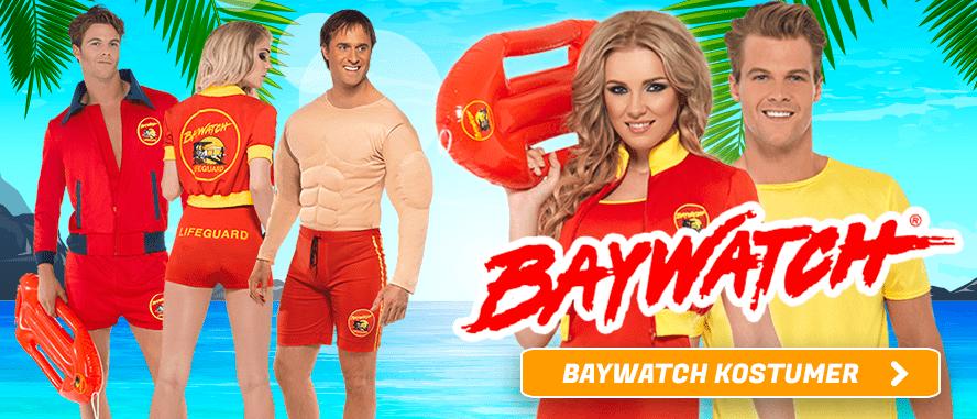 Baywatch Kostumer I Temashop.dk