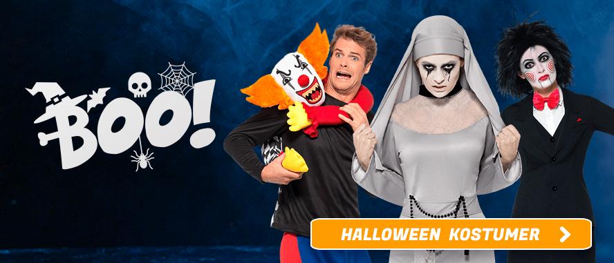 Halloween Kostumer I Temashop.dk