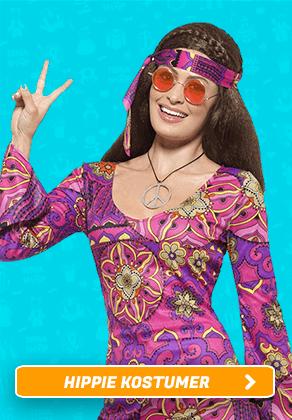 Hippie kostumer I Temashop.dk