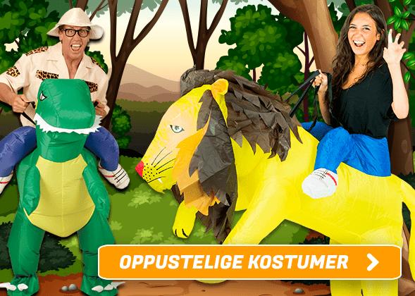Oppustelige Kostumer I Temashop.dk