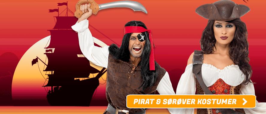Pirat kostumer I Temashop.dk