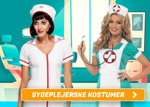 Sygeplejerske Kostumer I Temashop.dk
