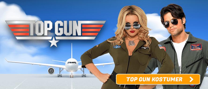 Top Gun Kostumer I Temashop.dk